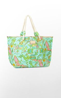 7df0cdc8479e Lilly Pulitzer Shoreline State Tote  78 --- want to use as a summer bag