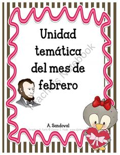Spanish February Unit product from Angelica-Sandoval on TeachersNotebook.com