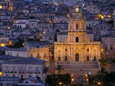 Modica is a city and comune in the Province of Ragusa, Sicily, southern Italy.    must go.
