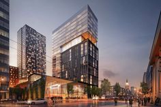 Mix Use Building, High Rise Building, Building Design, Detroit Riverwalk, Detroit Michigan, Real Estate One, Centennial Park, Small Buildings, Back Home