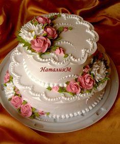 Тортики свадебные | 200 фотографий