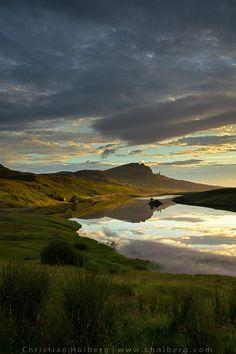 Loch Fada at Sun Rise - Isle of Skye by Christian Hoiberg http://www.choiberg.com