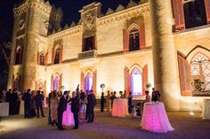 Fairytale castle wedding in Mallorca, Spain, organised by Alago Events.