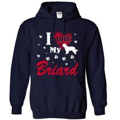 Briard T-Shirts, Hoodies. Get It Now ==>…