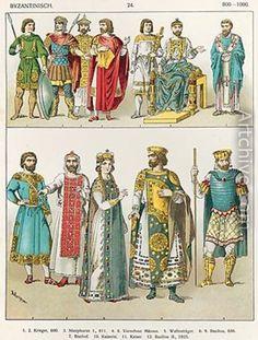 Dress at the Byzantine Court 2 - Albert Kretschmer