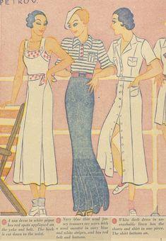 Just Skirts and Dresses: AustralianWomensWeekly 30s Fashion, Straight Skirt, Dress Skirt, Cruise, Disney Characters, Fictional Characters, Aurora Sleeping Beauty, Glamour, Disney Princess