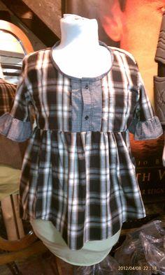 Mirvana Makes Stuff: Making stuff out of other stuff: upcycling mens shirts