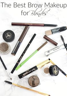 The Best Brow Makeup For Blondes