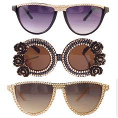 The Crystal Cult | Swarovski Crystal sunglasses | TheCrystalCult.com