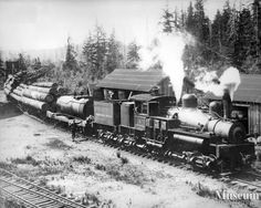 Logging Train, Cambell River
