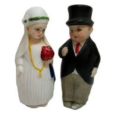 Wedding Cake Topper, 1920s