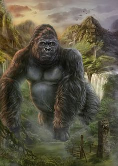 ☆ King Kong.。Art By :→: Dark-spider ☆