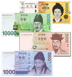 South Korean Money   Saving & managing your money in South Korea