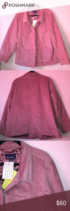 QVC Style Pink Jacket 2x Cozy coverage. The super-soft fleece fabric boasts an extra-warm sherpa lining helps keep you covered! New with tags!!! In excellent condition QVC Style Jackets & Coats Trench Coats