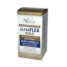 Ageless Foundation Ultraflex Gold Joint Formula- 90 Capsules