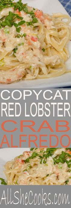 Red Lobster Recipes Shrimp Alfredo Looks Great And . Copycat Red Lobster's Crab Alfredo Recipe CDKitchen Com. Creamy White Wine Shrimp Alfredo Life As A Strawberry. Home and Family Lobster Recipes, Fish Recipes, Seafood Recipes, Dinner Recipes, Cooking Recipes, Healthy Recipes, Red Lobster Crab Alfredo Recipe, Lobster Pasta, Top Recipes