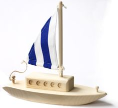 Thorpe Wooden Toy Boat | We Are Crazy for Wooden Toys | Pinterest