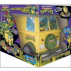 Teenage Mutant Ninja Turtles: The Complete Classic Series (TMNT Party Van Packaging) (Full Frame)  - $99.98 (Discount: $88.86)