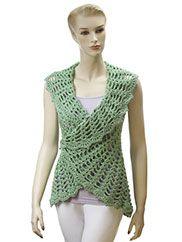 Gourmet Crochet Uptown Downtown Shrug Pattern