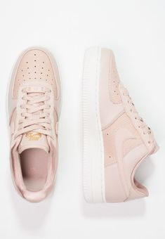 reputable site 10869 aad8e AIR FORCE 1  07 LX - Sneakers - particle beige summit white particle  pink metallic gold   Zalando.se 🛒