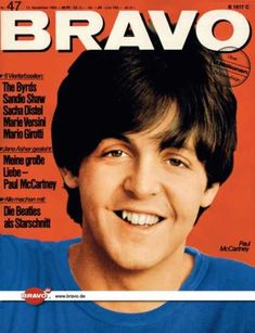 Bravo - 47/65, 15.11.1965 - Paul McCartney (Beatles)