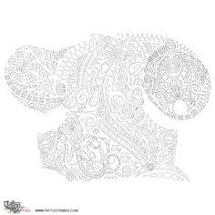 Tattoo of Iho, Heart, essence tattoo - custom tattoo designs on TattooTribes.com Tattoo Maori, Polynesian Tribal, Custom Tattoo, Tattoo Inspiration, Stencils, Tattoo Designs, Patches, Tapestry, Logo
