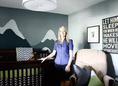 mountain themed baby room - Google Search