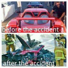 paul walker car crash photo   Paul Walker – Before and After the Tragic Car Crash (Photos ...