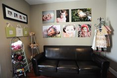 I really want some wedding pics displayed in my office..  These are all cute and fun ideas.