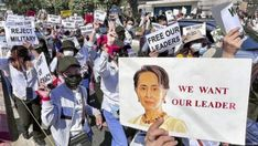 """One hundred days since the Myanmar military coup, the """"brutal"""" repression of protesters has continued, despite all international efforts to end the violence, the UN rights office (OHCHR) said on Tuesday (local time). Hundred Days, World Watch, Military Coup, News India, United Nations, Control, Human Rights, Internet, Effort"""