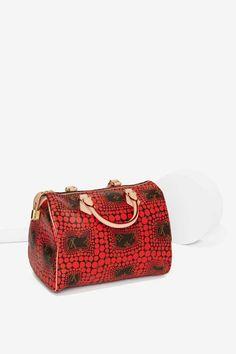 Vintage Louis Vuitton Kusama Waves Leather Bag - Vintage Louis Vuitton | Louis Vuitton | Accessories