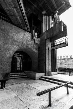 Castelvecchio Museum | Flickr - Photo Sharing! Space Museum, Carlo Scarpa
