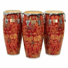 """12 1/2"""" Master Fantasy Siam Conga Drum w/ Stand by Tycoon. $409.00. This listing is for one 12 1/2"""" Conga Drum w/ Stand - Available in 4 sizesToday, Tycoon Percussion is well-established throughout the world as a leading manufacturer of percussion products, and is the only hand percussion company that wholly owns its own manufacturing facility. Commitment to quality control and innovation are first and foremost in Tycoon Percussion's philosophy. Tycoon Percussion ..."""