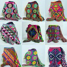 MOCHILAS WAYUU ,WAYUU STYLE  ♡bolsos hermosos en tejido wayuu tejidos por los indígenas de la Guajira -Colombia ❤❤❤#pulserawayuu #pulsera #pulseras #pulserasdemoda #pulseraazul #brazaleteswayuu #brazalete #brazaletes #brazalet #brazalets #manilla #manillas #manillaswayuu #manillasdemoda #wayuumochila #wayuustyle #wayuu #wayuubags #wayuubag # #hippiestyle #hippiechic #hippiegirl #bohostyle #bohochic #mardeamorsw#mochilaswayuu#wayuumochilas#