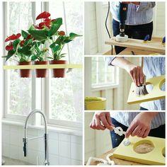 Diy hanging garden: home depot workshop 4/17/14 $15 cute idea!!