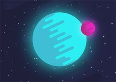 How To Create a Flat Style Vector Planet in Illustrator blog.spoongraphics.co.uk/tutorials