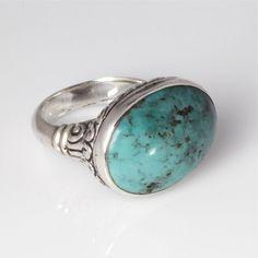 Brighton-Inspired Turquoise Ring! Beautiful.