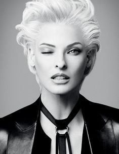 Linda Evangelista  The Role Model Issue: Inspire a generation | i-D Online.