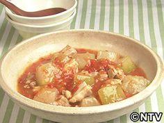 イッピン!自家製トマトソース「鶏肉と冬瓜のトマト煮」のレシピを紹介!