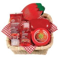 Party Treats | Basket Of Strawberries | The Body Shop
