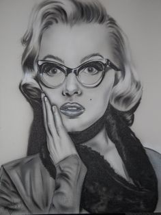 Marilyn Monroe by ~artistmindstate on deviantART || This image first pinned to Marilyn Monroe Art board, here: http://pinterest.com/fairbanksgrafix/marilyn-monroe-art/ || #Art #MarilynMonroe