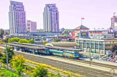 Train Station : As Seen From The Centre Of Hope City Art, Train Station, Ontario, Centre, London, Photography, Photograph, Photo Shoot, Fotografie