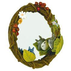 Ghibli My Neighbor Totoro stand mirror [hide-and-seek] Fr...
