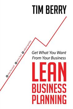 @TimBerry's book #LeanBusinessPlanning is a terrific resource for startup and early stage entrepreneurs #andelicious