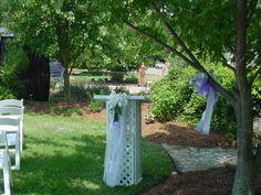 Backyard Wedding- Guest Sign in Registry