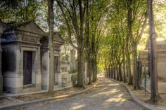 The Père Lachaise Cemetery in Paris is both a park and shrine. It's the most visited in the city and... - Flickr user Till Krech