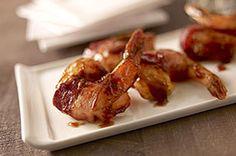 Mango and Chipotle Bacon-Wrapped Shrimp Recipe - Kraft Canada