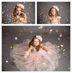 Glitter session, glitter, Kansas City children's photographer