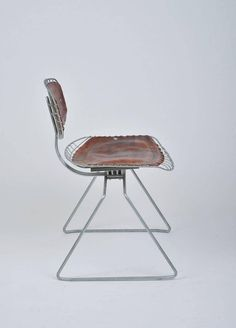 Mid-Century Modern Beaubourg Chairs from the Pompidou Centre, Set of Eight For Sale Adirondack Chair Plans Free, Polywood Adirondack Chairs, Metal Furniture, Modern Furniture, Furniture Design, Wire Chair, Chair Bench, White Leather Dining Chairs, Garden Table And Chairs