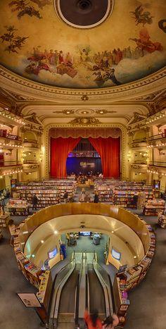 El Ateneo - Buenos Aires - Amazing bookstore.